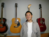 エレキギターの講師画像